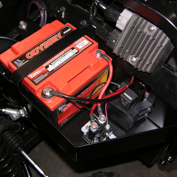 Black Rhino Performance Yamaha Rhino Auxiliary Battery Kit