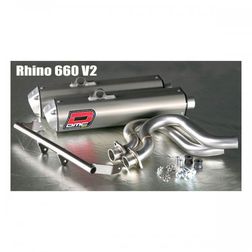 Black rhino performance dmc yamaha rhino 2005 2007 660 for 2014 yamaha grizzly 700 exhaust