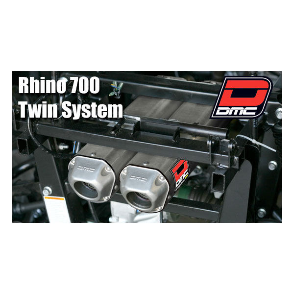 Black rhino performance dmc yamaha rhino 700 2008 2014 for 2014 yamaha grizzly 700 exhaust