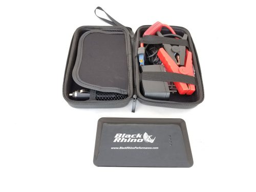 Battery booster power supply jump starter
