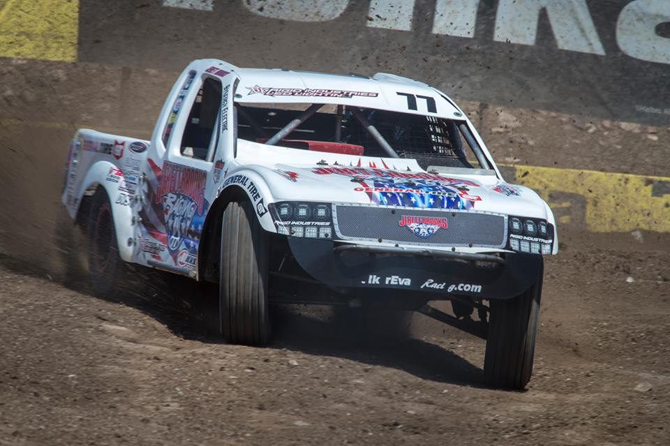 Jerett Brooks Battles At First LOORRS Race In Mexico