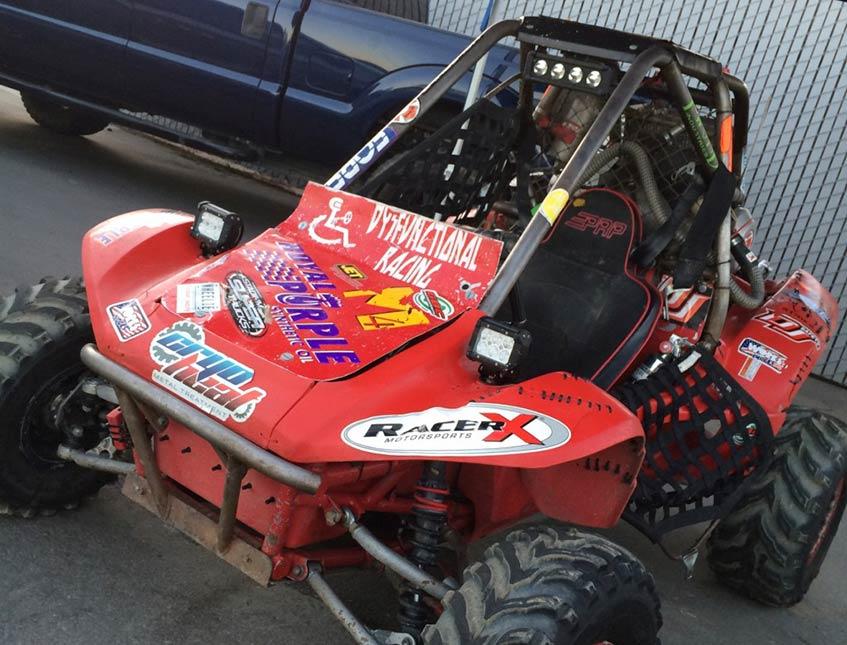 "Steve ""Wheels"" Bucaro Has A Blast At The Sand Sports Super Show Super Stadium Trucks Race"