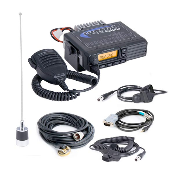 Rugged Radios Car to Car Kit with PTT – UHF | Black Rhino Performance |  Online Store