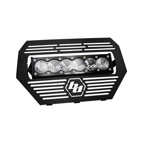 Black Rhino Performance   Baja Designs 2014-2015 Polaris RZR Grille/OnX6  LED Light Bar Kit