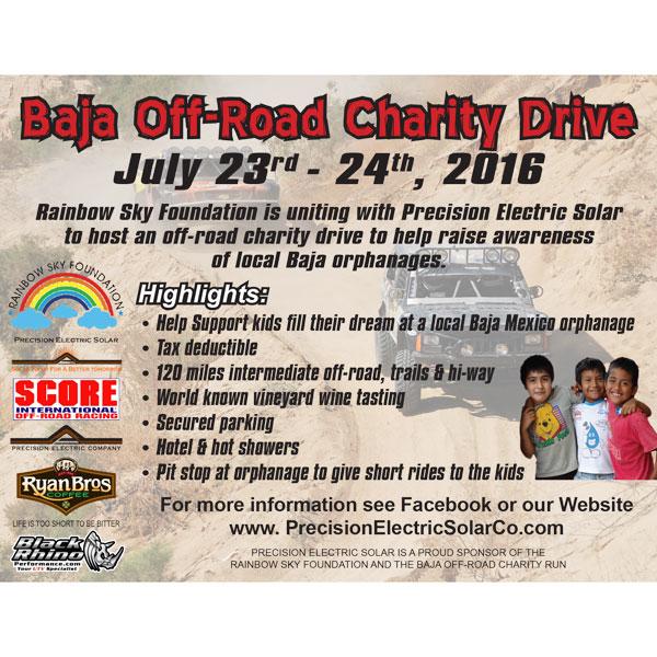 Baja Off-Road Charity Drive