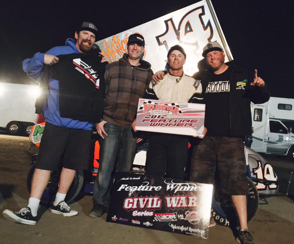 JARRETT KRAMER GETS 2ND LIGHTNING SPRINT WIN OF THE YEAR AT BAKERSFIELD