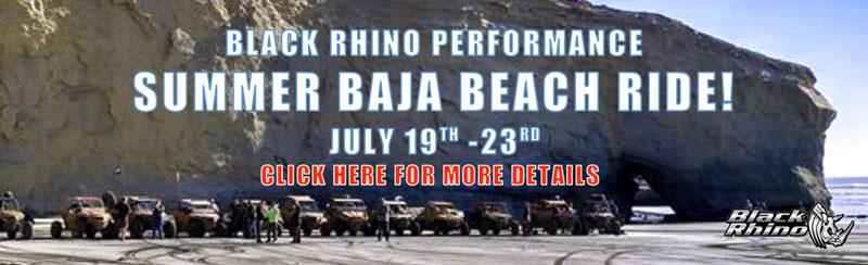 Summer Baja Ride