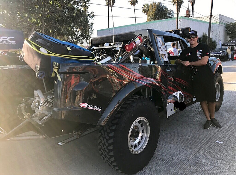 Brooks Gets His First Trophy Truck Action as BAJA 500 Navigator