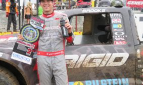 Brooks Weathers the Storm, Leaves Wheatland with a Podium Finish